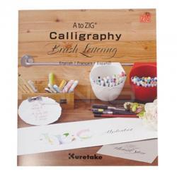 Zig - A to Zig Calligraphy Brush Lettering Kaligrafi Kitabı