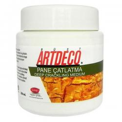 Artdeco - Artdeco Pane Çatlatma Medyumu Beyaz 220ml