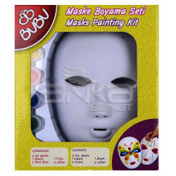 Bubu - BuBu Maske Boyama Seti