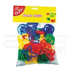 Bubu - Bubu Oyun Hamuru Kalıpları No:00045