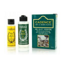 Cadence - Cadence 100 Kat Parlak Vernik 70ml+120ml