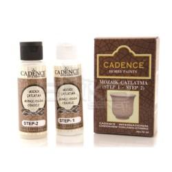 Cadence - Cadence Mozaik Çatlatma (Step 1-Step 2) 70 + 70ml