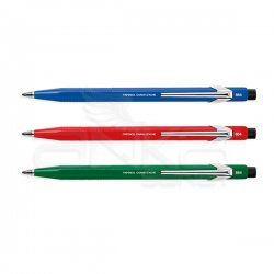Caran dAche - Caran d`Ache 884 Metal Fix Pencil Versatil Kalem 2mm