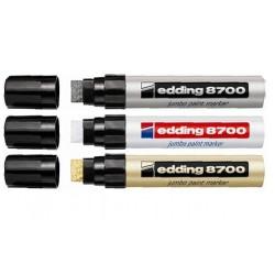 Edding - Edding 8700 Jumbo Paint Kesik Uçlu Markör 18mm