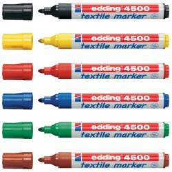 Edding - Edding 4500 Tekstil Kalemi 2-3mm