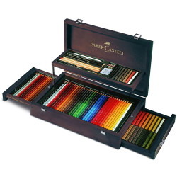 Faber Castell - Faber-Castell Art&Graphic Collection Ahşap Kutulu Set 110086