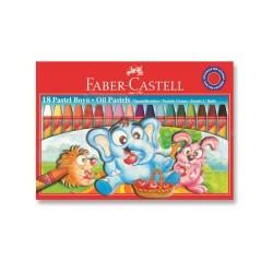 Faber Castell - Faber Castell Pastel Boya 18 Renk