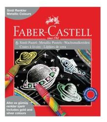 Faber Castell - Faber-Castell Simli Pastel Boya 6 Renk