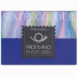 Fabriano - Fabriano Acquarello Watercolour Cold Pressed Postcard 300g 10,5x14,8cm 20 Yaprak