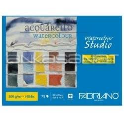 Fabriano - Fabriano Watercolour Studio Cold Pressed Sulu Boya Blok 27x35cm 300g 75302735