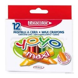 Fibracolor - Fibracolor Yoyo Maxi Pastel Boya 12li