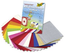 Folia - Folia 24x34cm Yaprak Blok Seçilmiş Renkler Genel No: 61349