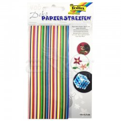 Folia - Folia Quilling Strips Kağıt Kıvırma Şeritleri 400 Adet 16x0.3cm Kod:1290