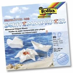 Folia - Folia Schwimmpapier Origami Kağıdı 65g 20 x20cm-43200