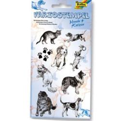 Folia - Folia Silikon Stamp Baskı Kedi&Köpek-30111