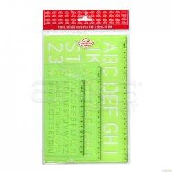 Hatas - Hatas Büyük Harf Yazı Seti 10-20-30mm 02260