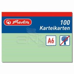 Herlitz - Herlitz Karteikarten Index Cards A6 100lü
