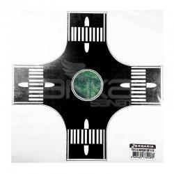Jordania - Jordania Kavşak Yapışkanlı 1/100 4lü Siyah KY100-S