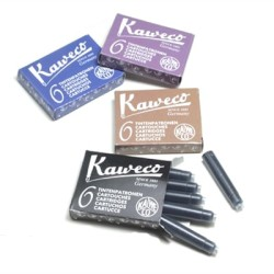 Kaweco - Kaweco Mürekkep Kartuşu 6lı Paket