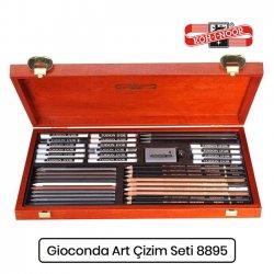 Koh-i-Noor - Koh-i-Noor Gioconda Artist Set Ahşap Kutu Çizim Seti 8895