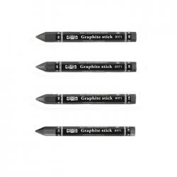 Koh-i-Noor - Koh-i-Noor Graphite Stick Jumbo Woodless Grafit Kalemi 8971