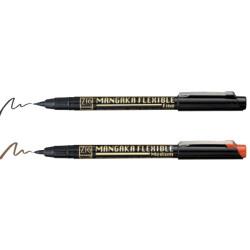 Zig - Zig Kuretake Cartoonist Mangaka Flexible Pen