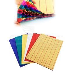 Lino Karadeniz - Lino Katlı Petek Kağıt 5 Renk A4 23x33