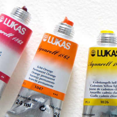 Lukas Aquarell 1862 Artist 24ml Sulu Boya 24ml