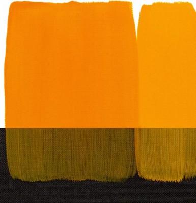 Maimeri Acrilico Akrilik Boya 114 Permanent Yellow Deep 200ml - 114 Permanent Yellow Deep
