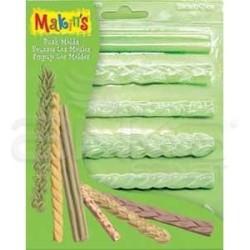 Makins Clay - Makins Clay Push Mold Şekilleme Kalıbı Kenarlıklar Kod:39006