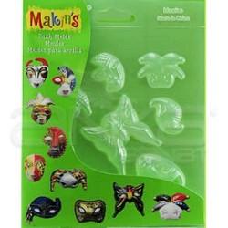 Makins Clay - Makins Clay Push Mold Şekilleme Kalıbı Maske Kod:39010