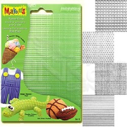 Makins Clay - Makins Clay Texture Sheets Doku Kalıpları 4lü Set B