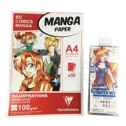 Anka Art - Manga-Anime Başlangıç Seti 2
