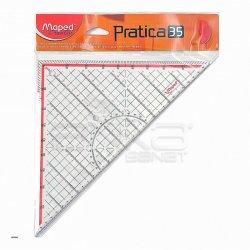 Maped - Maped Pratica 35 Tekstil Gönyesi