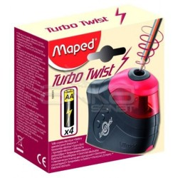 Maped - Maped Turbo Twist Pilli Kalemtıraş