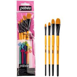 Pebeo - Pebeo Çok Amaçlı Hobi Fırça Seti 11