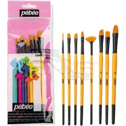 Pebeo - Pebeo Çok Amaçlı Hobi Fırça Seti 7