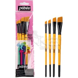 Pebeo - Pebeo Çok Amaçlı Hobi Fırça Seti 9