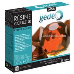Pebeo - Pebeo Gedeo Resine Couleur Renkli Reçine Kehribar 150ml 766154