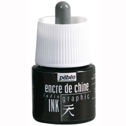 Pebeo - Pebeo India Ink Teknik Çini Mürekkebi 45ml
