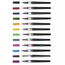 Pentel - Pentel Arts Colour Brush Fırça Uçlu Kalem