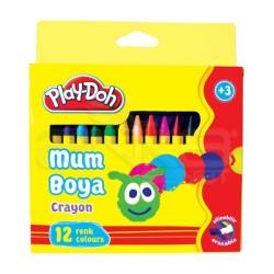 Playdoh - Play-Doh 12 Renk Mum Boya 8mm CR004
