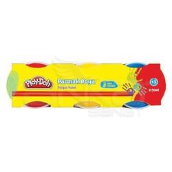 Playdoh - Play-Doh 3 Renk Parmak Boya 50ml PR002