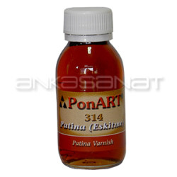 Ponart - Ponart Patina(Eskitme) Verniği 100ml Kod:314