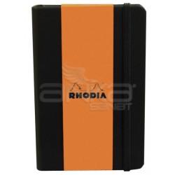 Rhodia - Rhodia Boutique Webnotebook Italyan Deri Noktalı Defter A5