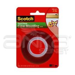 Scotch - Scotch Çift Taraflı Şeffaf Montaj Bandı 25,4mm x 1,51 m