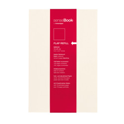 Sensebook - Sensebook Flap Refill Medium 14x21cm