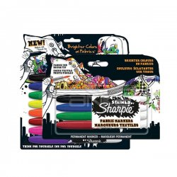 Sharpie - Stained By Sharpie Fabric Markers Textil Kalem Seti