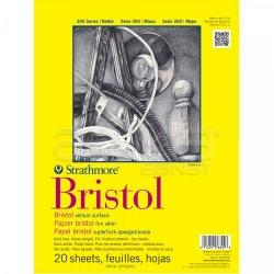 Strathmore - Strathmore Bristol Blok 20 Yaprak 270g 300 Seri A4