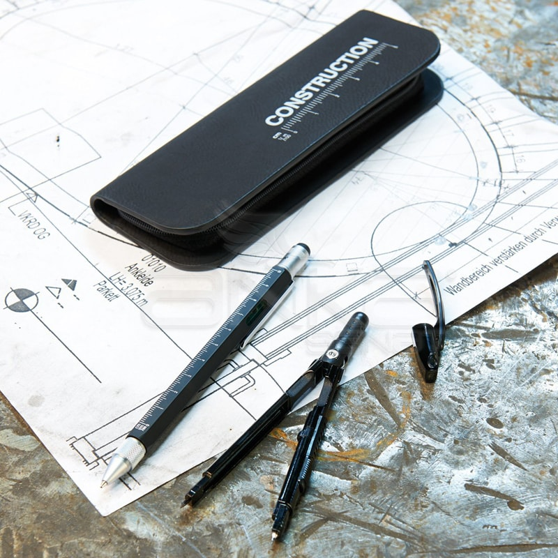 Troika Construction Mimari Teknik çizim Kalem Ve Pergel Seti Pec70
